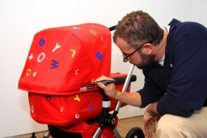 james and bugaboo stroller